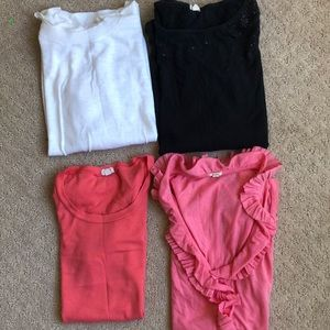 J.Crew Bundle - 3 Tops and 1 (white) Sweater - XS